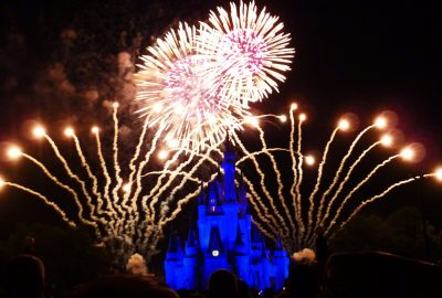 Wishes fireworks at the Magic Kingdom
