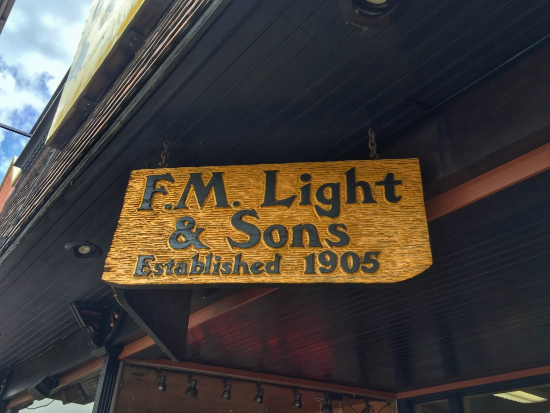 Cowboy Up at F.M. Light & Sons