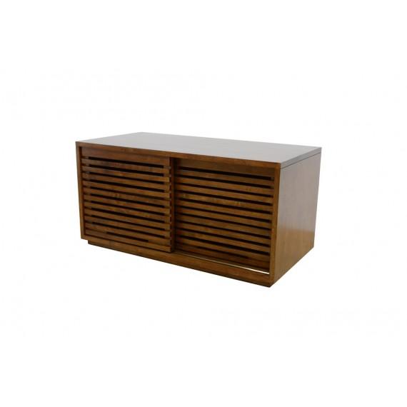 meuble tv 2 portes coulissantes 90cm