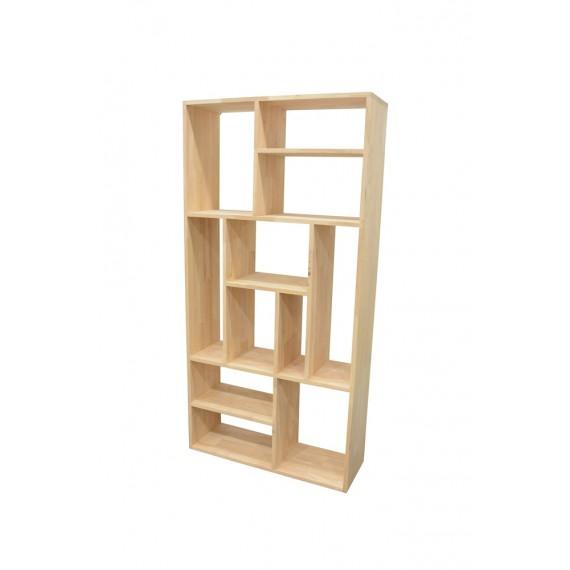 etagere bois sans fond modules destructures