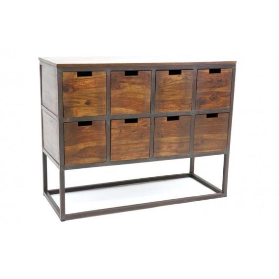 meuble de rangement 8 casiers