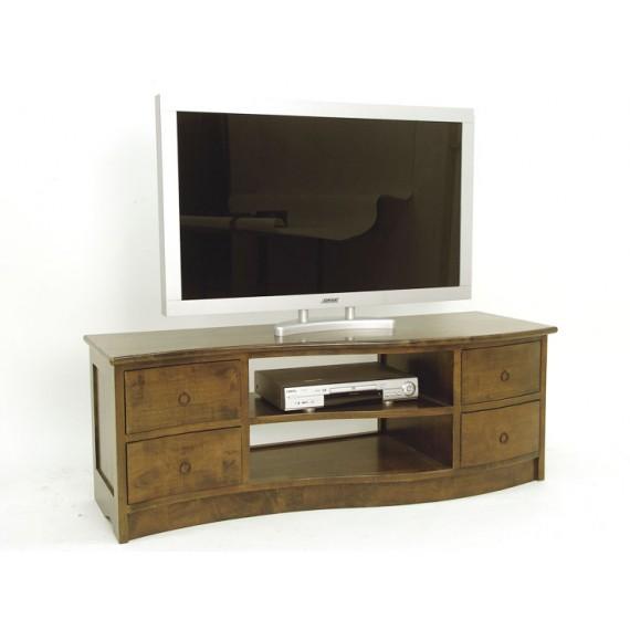 meuble tv forme vague 110cm