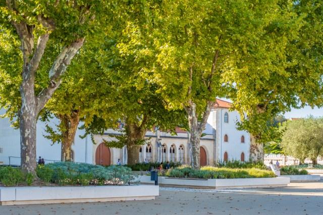Batalha monastery and gardens.