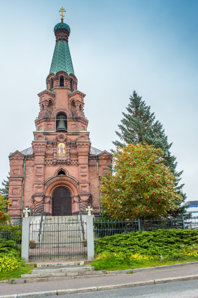 The orthodox church in Tampere.