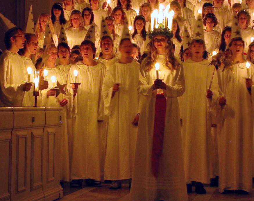 Christmas in Denmark Saint Lucia