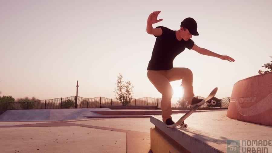 Skater XL le Test Express, très technique mais pas au niveau du codage