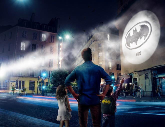 Ton Logo Batman, transforme ton mur en Gotham City!