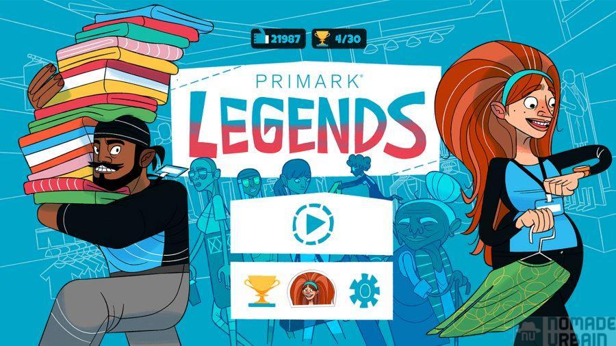 Primark Legends, le jeu mobile pour se la jouer vendeur épique…