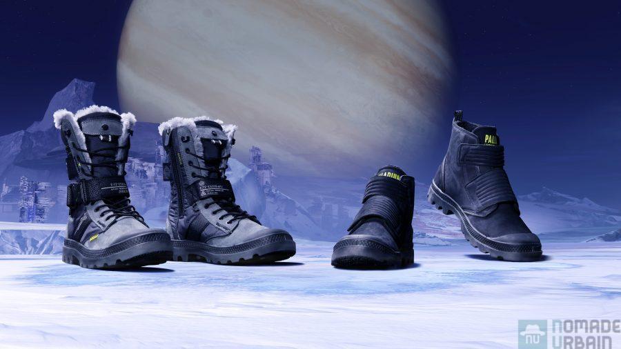 Palladium X Destiny, prêt pour la neige galactique