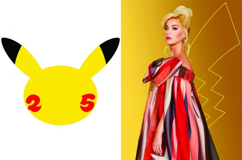 Les 25 ans de Pokémon, Katy Perry évolue pour une année musicale à en oublier de les attraper tous !