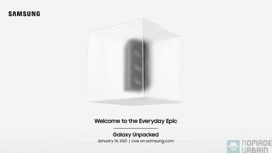 Galaxy Unpacked, le compte à rebours est en RA  !