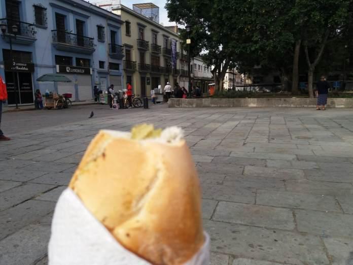Street food in Oaxaca