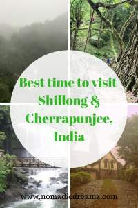 #Monsoon in #India is the best time to visit Shillong and Cherrapunji to fully appreciate their natural beauty