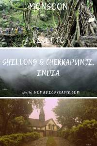 Places to visit in Shillong and Cherrapunji during the monsoon