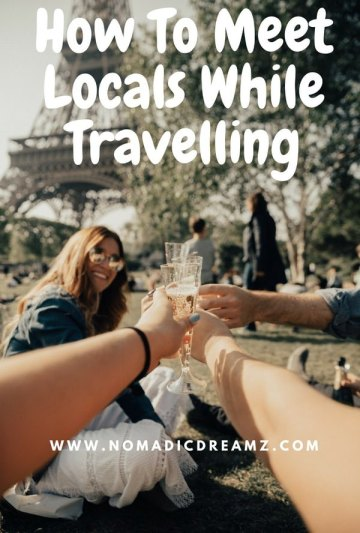 Travel Tip Tuesday: How to meet locals while travelling To me, one of the most interesting facets of travel - apart from seeing a new place - is that you get to meet people. If you really want to take back a cor