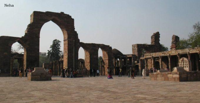 Qutub Minar complex courtyard