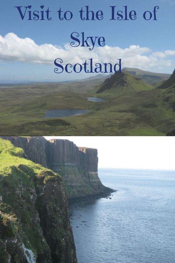 Visiting the scenic Isle of Skye in Scotland covering places like Portree, Old Man of Storr, Glenshiel, Kilt Rock etc.