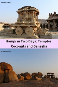 Places to visit in India's temple town of Hampi on a 2 day visit