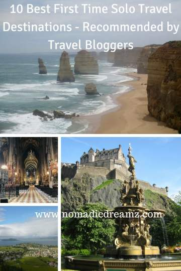 First time #solotravel #destinations like #Sydney,#Vienna, #Edinburgh, #LosAngeles etc recommended for the first time solo #traveller by #travel bloggers!