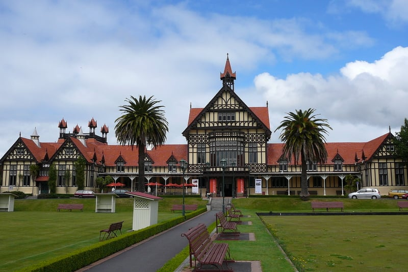 The museum at Rotorua