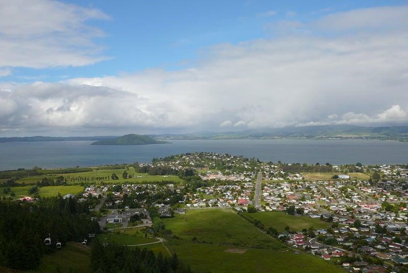 Skyline view NZ