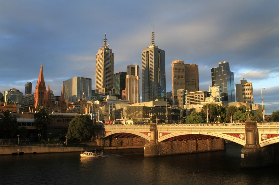 Melbourne Australia, Melbourne tourist attraction, tourist destination in Australia
