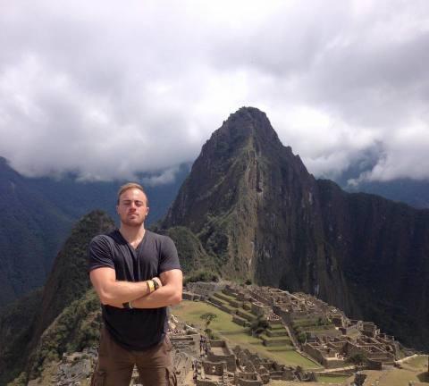 Rocked the Prana V-Neck to Machu Pichu.