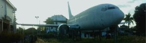 Tracking and finding two abandoned airplanes in Bali followed by watching sunset at Balangan beach