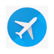 Digital Nomad Tools list - Google Flights icon