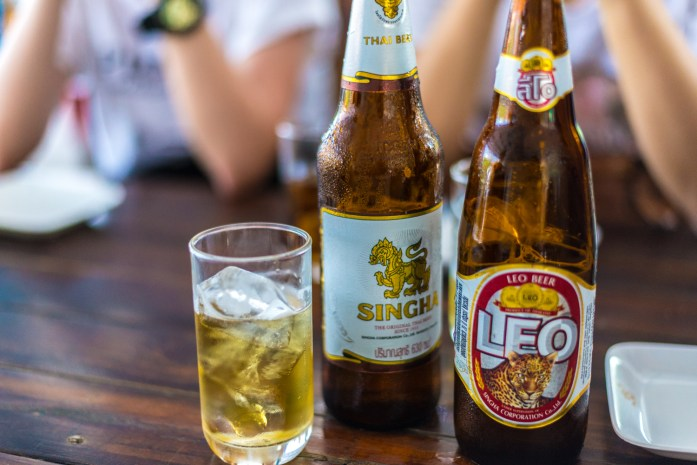 thailand, bangkok, singha, beer, leo, beer with ice