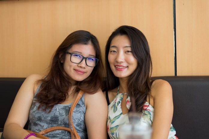 thailand, bangkok, portrait, cafe