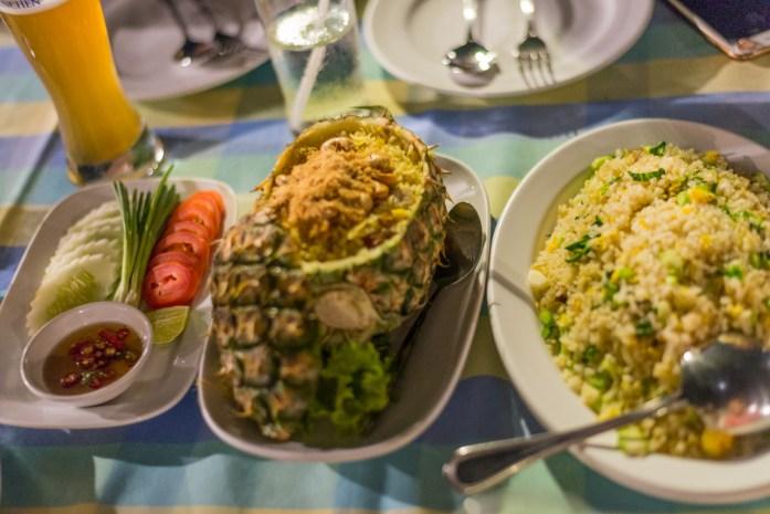 bangkok, thailand, thai food, pineapple