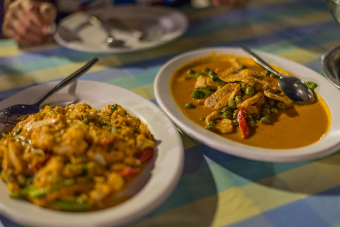 bangkok, thailand, thai food, curry, rice