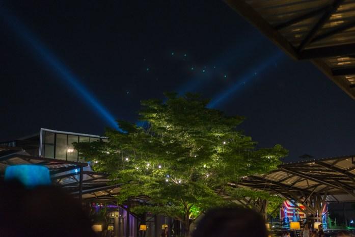 bangkok, thailand, night view, restaurant