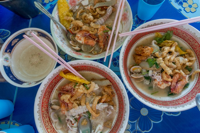 thailand, surat thani, don sak, restaurant, seafood