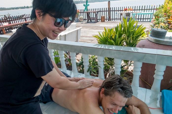 thailand, don sak, surat thani, hotel, sunburn