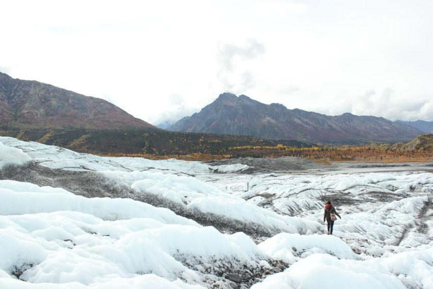 Matanuska Glaciar en Alaska