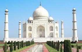 Taj Mahal. Agra, India, Tourist Places to Visit in India