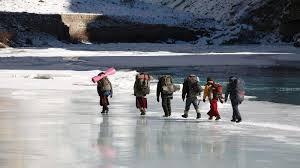 Trekking in LAdakh himalaya