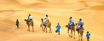 Tourist places to visit near Jaisalmer - Camel Safari