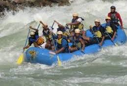 Tourist Places to visit in Rishikesh - Rafting