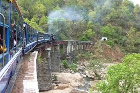 Ketti Valley in ooty - toy train