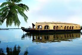 Tourist places to visit in Kumarakom - Houseboat