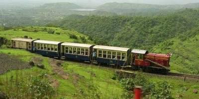 Matheran toy train in maharashtra - matheran hill station