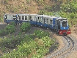 Matheran toy train,