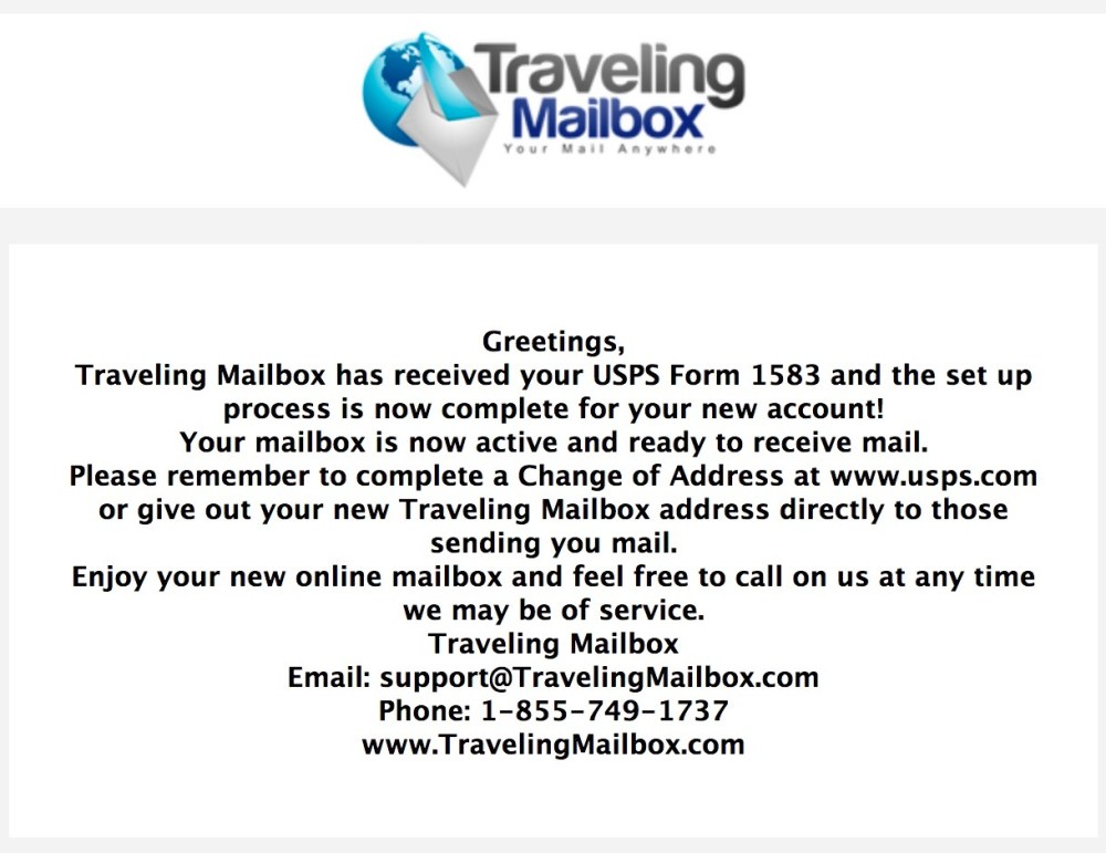 How to get mail when you travel – Traveling Mailbox Review – Nomad