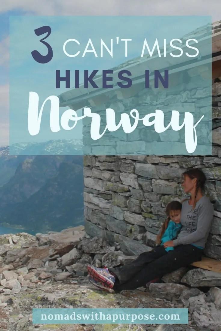 best hikes Norway