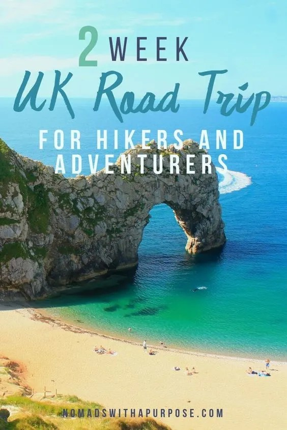 2 week uk road trip itinerary for outdoor adventure