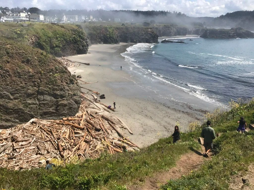 2 week California coast road trip itinerary: Mendocino headlands