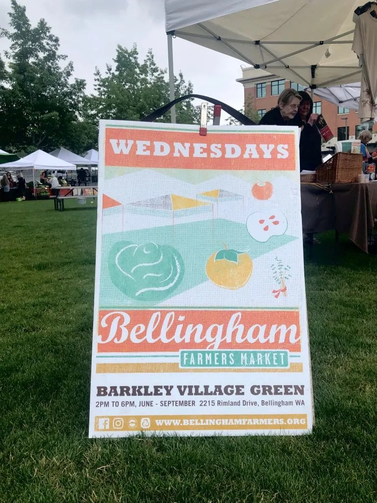 Bellingham Farmers Market on the Washington State National Park Itinerary